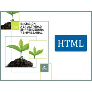Iniciación a la actividad emprendedora y empresarial ESO (HTML)
