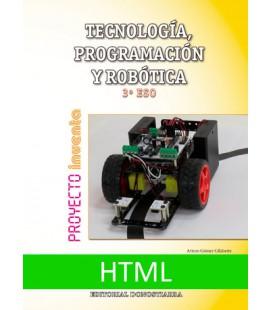 Tecnología, Programación y Robótica 3º ESO