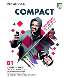 Compact Preliminary for Schools Student's Book