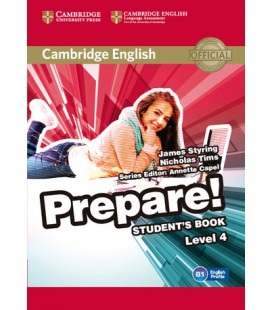 Prepare 4 Student's Book (Enhanced PDF)