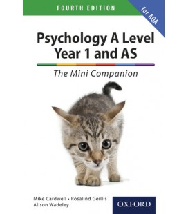 Psychology A Level Year 1 and AS: The Mini Companion for AQA