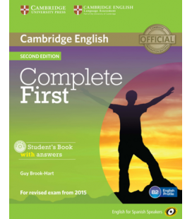 ePDF Complete First 2nd ESS Student's Book (Enhanced PDF)
