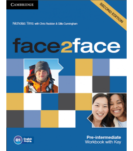 ePDF face2face Pre-intermediate Workbook
