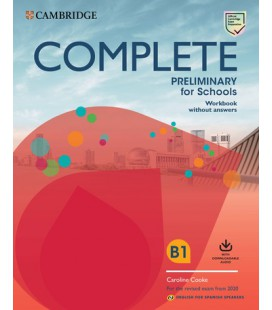 Complete Preliminary for Schools Workbook