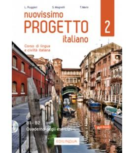 Nuovissimo Progetto italiano 2 - Quaderno degli esercizi