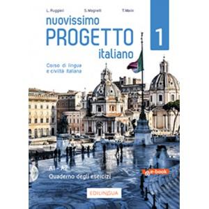 Nuovissimo Progetto italiano 1 - Quaderno degli esercizi
