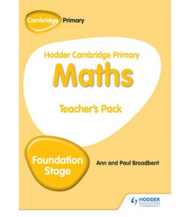 Hodder Cambridge Primary Maths Teacher's Pack Foundation Stage