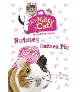 Dr KittyCat is ready to rescue: Nutmeg the Guinea Pig