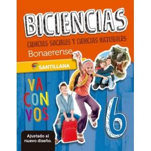Biciencias. Cs. sociales y Cs. naturales 6. Bonaerense. Santillana va con vos