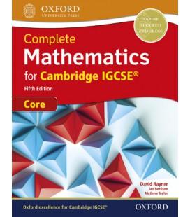 Complete Mathematics for Cambridge IGCSE Core