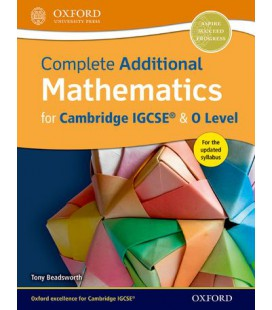 Complete Additional Mathematics for Cambridge IGCSE & O Level