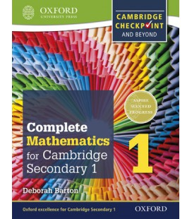 Complete Mathematics for Cambridge Lower Secondary 1: Book 1