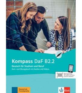 Kompass DaF B2.2 interaktives Kurs- und Übungsbuch