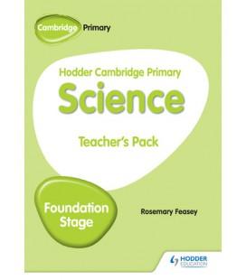 Hodder Cambridge Primary Science Teacher's Pack Foundation Stage