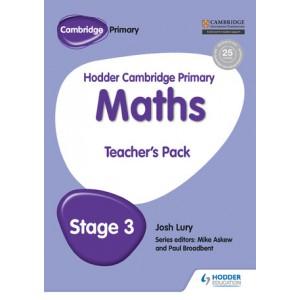 Hodder Cambridge Primary Maths Teacher's Pack 3