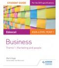 Ed AS/A-lvl Yr 1 Bus SG: Theme 1: Marketing & People