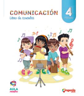 Libro de Comunicación 4º de Primaria