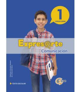 Expresarte 1, educación secundaria: Comunicación Texto escolar