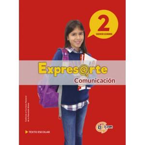 Expresarte 2, educación secundaria: Comunicación Texto escolar