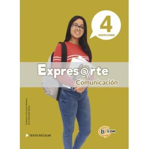 Expresarte 4, educación secundaria: Comunicación Texto escolar