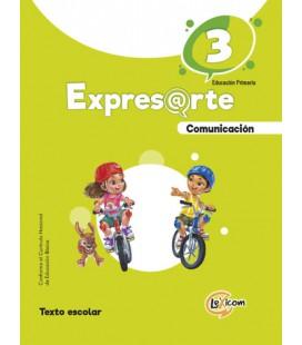 Expresarte 3, educación primaria: Comunicación Texto escolar
