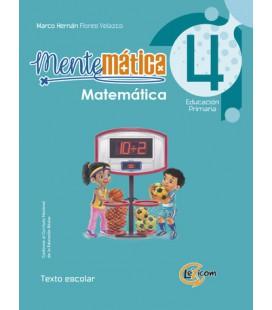 Mentemática 4, educación primaria: Matemática, texto escolar