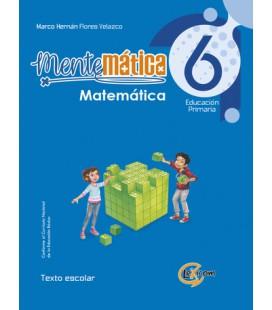 Mentemática 6, educación primaria: Matemática, texto escolar