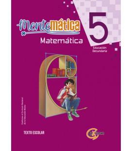 Mentemática 5, educación secundaria: Matemática, texto escolar